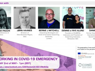 Interviews with directors and managers of coworking and centres for social innovation. May 2, 2020
