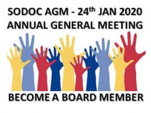 SoDoC Annual General Meeting - 24th of January 2020