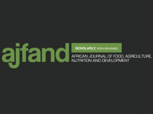 African Journal of Food, Agriculture, Nutrition and Development.
