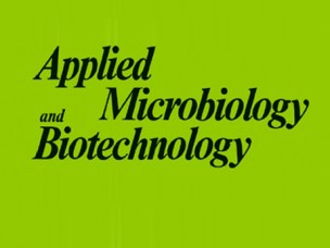 Applied Microbiology and Biotechnology publication