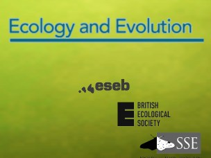 Ecology and Evolution publication