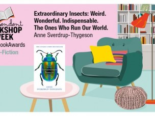 Extraordinary Insects - shortlisted for Non-Fiction Book of the Year