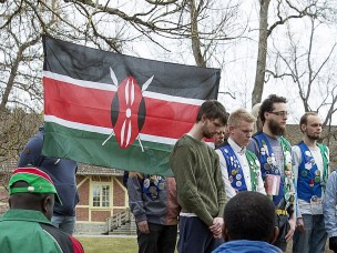 Memorial ceremony for Kenya massacre