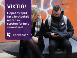 Lånekassens tiltak for studenter under koronakrisen