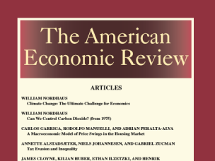 Ny publikasjon i American Economic Review