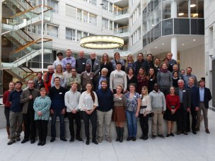 Participants of the workshop on Environmental Radioactivity for PhD, Postdoc and MSc students