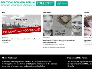 Launch of new physical and online meeting place for political ecology