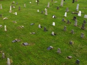 Toppling tombstones a real threat