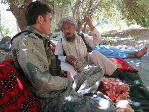How can police build trust with communities to improve security in post-conflict regions?