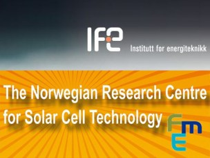 Norwegian Solar Cell 2019 conference presentations