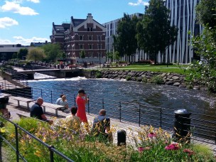 """Coworking Spaces in the """"Center of a District"""" of Oslo City"""