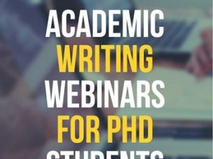 WEBINAR: Academic writing for PhD candidates and supervisors