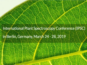2nd International Plant Spectroscopy conference presentation