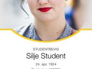 Digitalt studentbevis