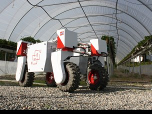 Farm robot Thorvald can help improve crop yields
