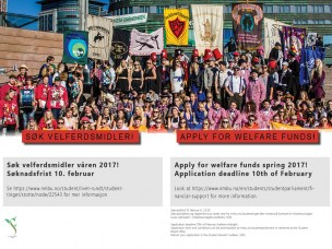 Have you remembered to apply for the Welfare Funds spring 2017?