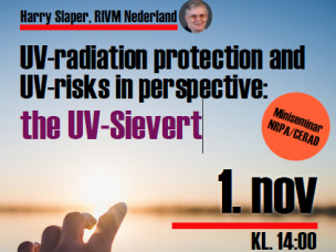 CERAD mini seminar on UV and radiation risks
