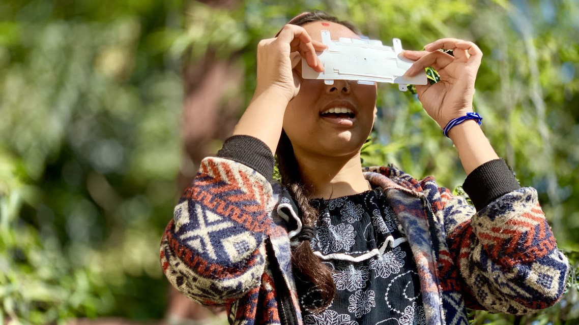 Making the unseen seen - the role of Foldscope in tackling the plastics issue