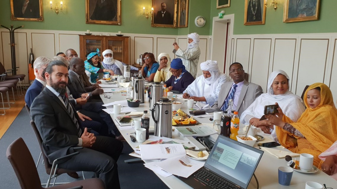 Working towards peace and food security in Mali
