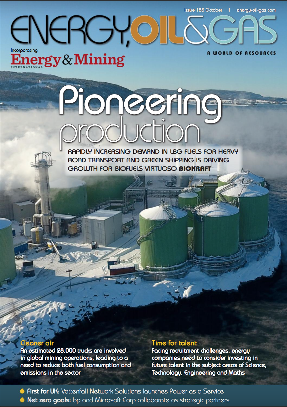 Energy, Oil and Gas magazine October 2020