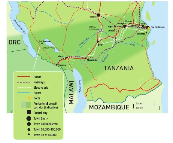 Southern Agricultural Growth Corridor of Tanzania