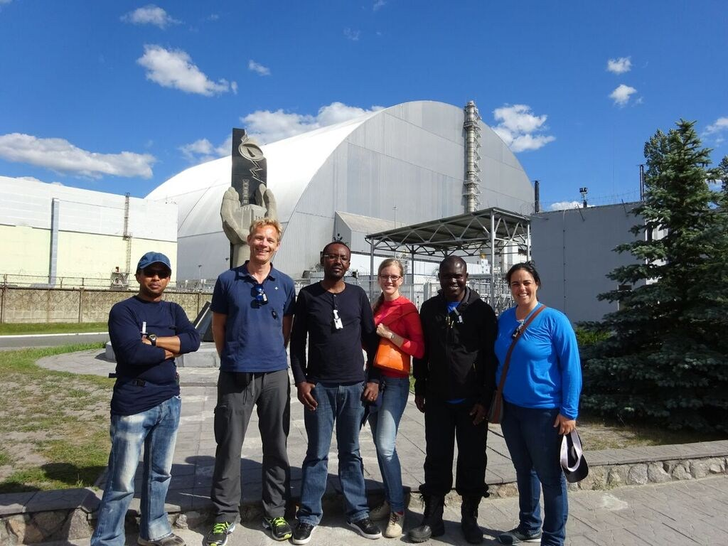 CERAD team in the Chernobyl exclusion zone