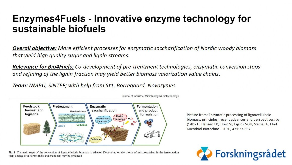 Enzymes4Fuels
