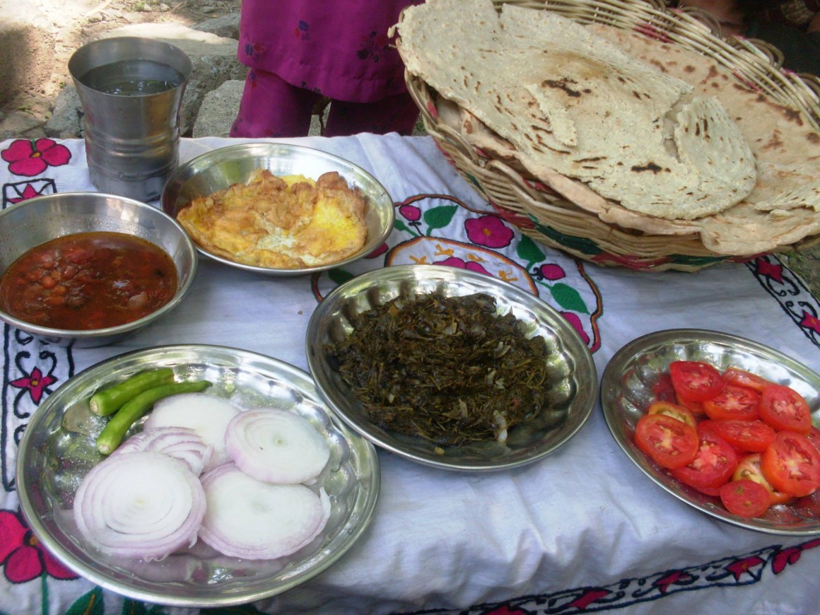 typical food for Swat valley region