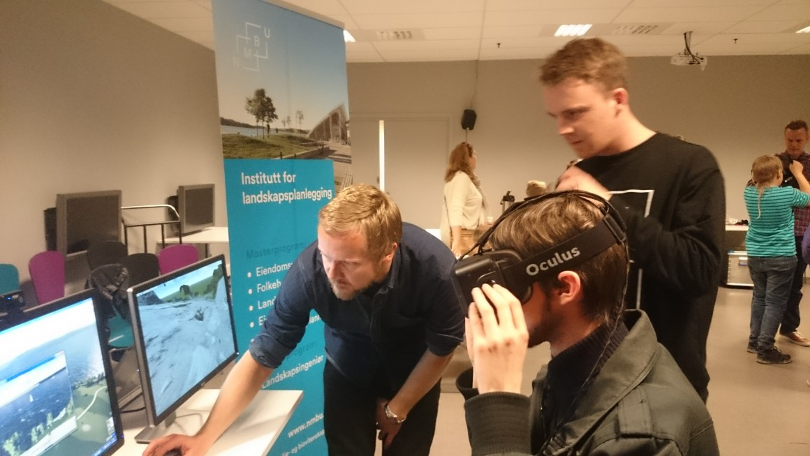 VR-Lab at Norsk teknisk museum May 2016