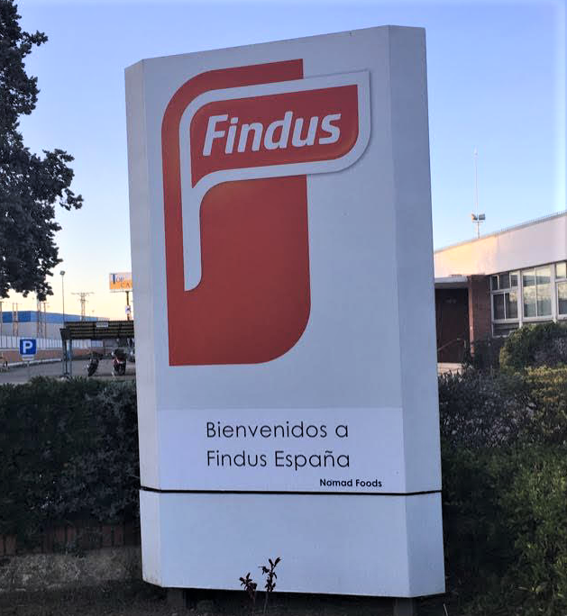 On-site at the Findus Spain factory in Valladolid.