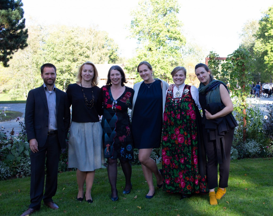 New doctors Magne Simonsen, Yevgeniya Tomkiv, Lisa Rossbach and Merethe Kleiven received their degrees on September 20th
