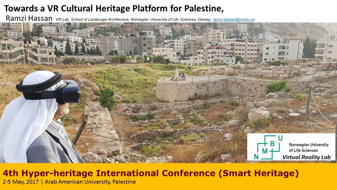 Smart heritage conference at AUJ