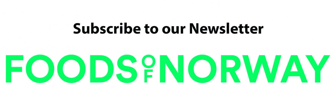 Sign up to get news and information about the progress in Foods of Norway.