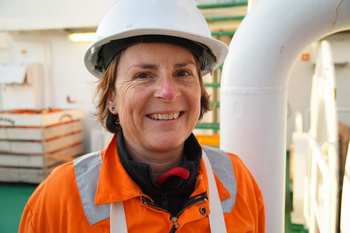 The leader of the research cruise Hilde Elise Heldal (HI) concludes that samples did not show high levels of radioactive caesium
