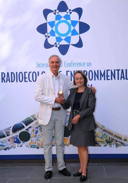 Professor Brit Salbu received the 4th IUR V.I. Vernadsky award in recognition of her outstanding contribution to the development and dissemination of Radioecology