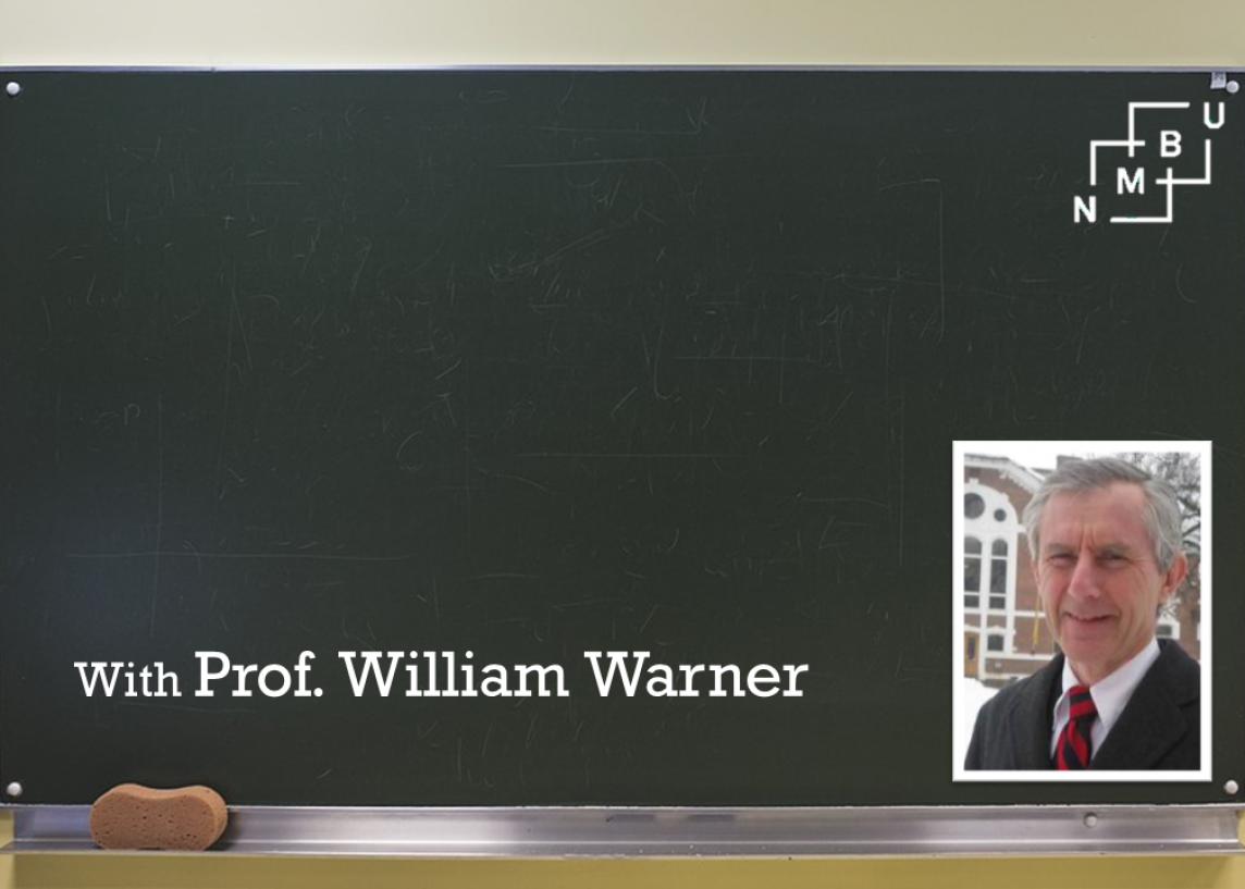 Professor William Warner discusses technology in the classroom, digital feedback tools and developing student-teacher relationships