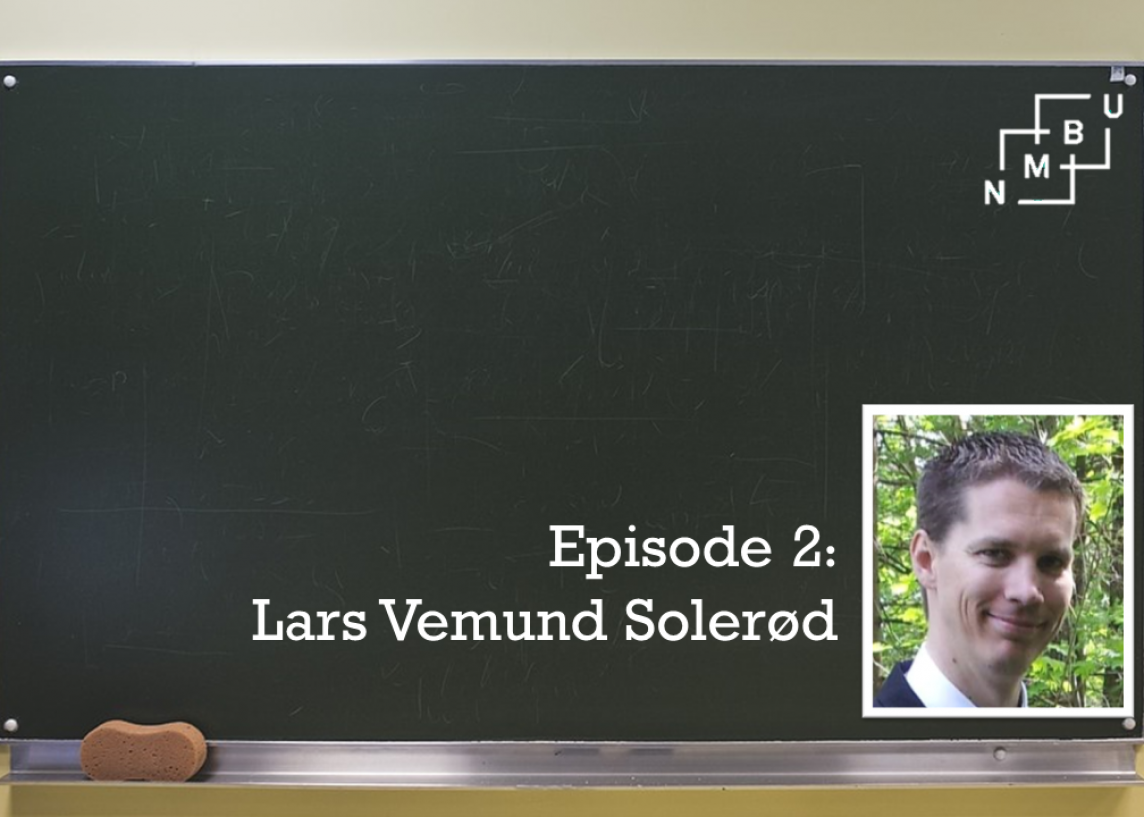 Lars Vemund Solerød shares how the NMBU Study Department can help professors use Learning Management Systems within and across programme courses.