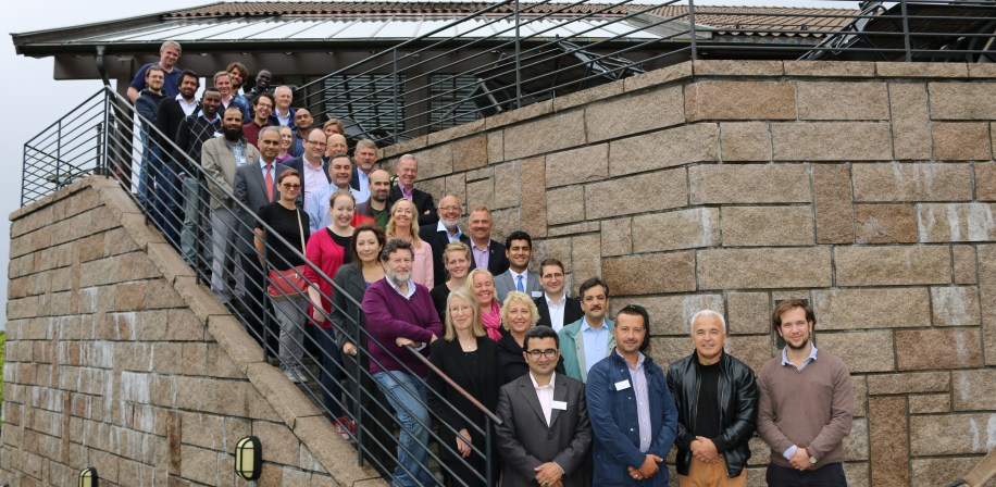 The Project Team at Oscarsborg, Norway, August 2015