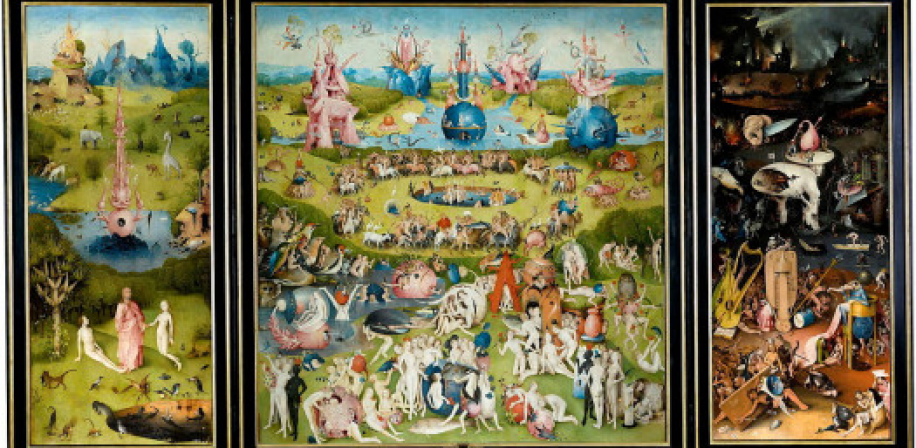 Hieronymus Bosch, The Garden of Earthly Delights (ca. 1490).
