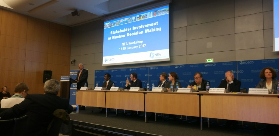 Angel Gurría, Secretary-General of the OECD, welcomes participants of the workshop