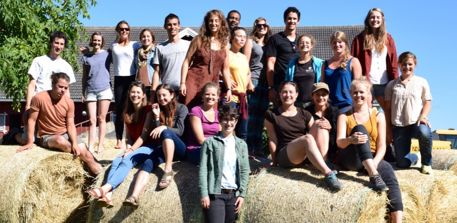 Agroecology students Class 2015 at Fokhol.