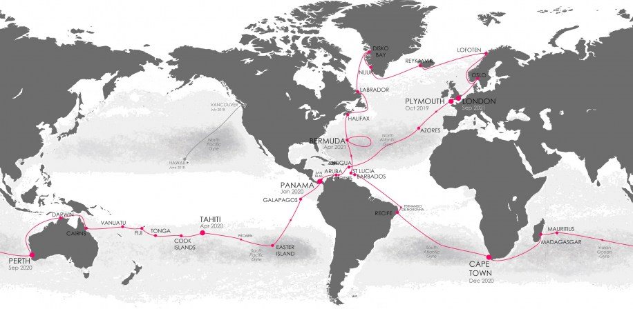 Round the World Route Plan