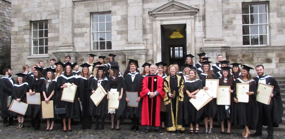 Graduation Day at TCD