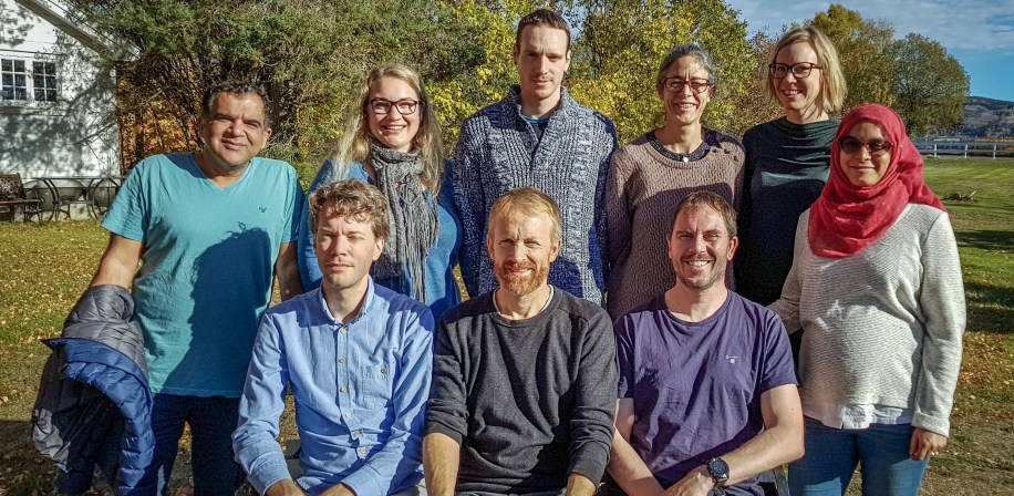 Weltzienlab group members October 2018