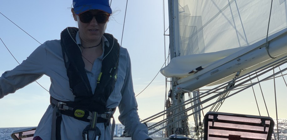 Guest crew member Marina Fennell