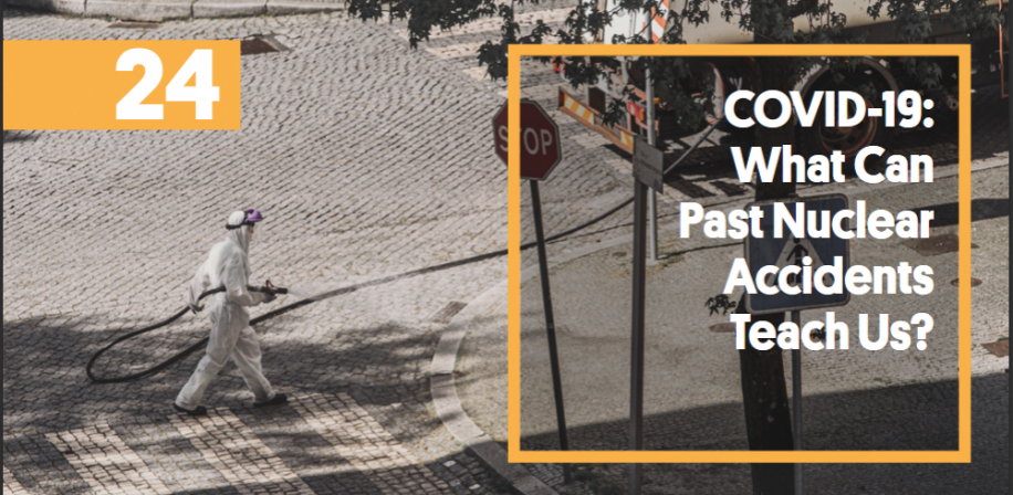 Apolicy brief that addresses how many of the recommendations that were developed for improving health and well-being of populations affected by nuclear accidents can be directly implemented or adapted to the current COVID-19 crisis