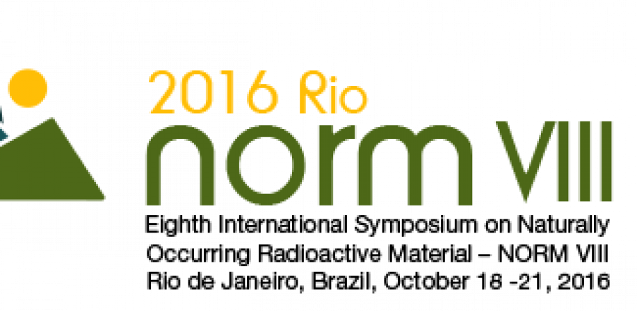 The Eighth International Symposium on Naturally Occurring Radioactive Material in Rio de Janeiro