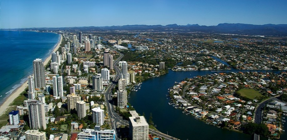 Gold Coast City, Queensland, Australia.