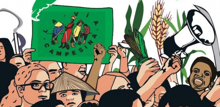 Via Campesina is a transnational peasant movement for food sovereignty.