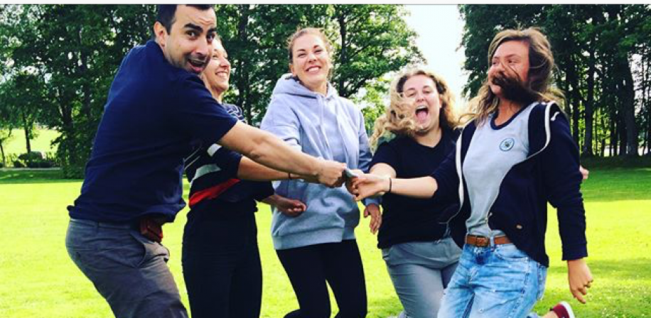 Introduction week for international students, 2017.